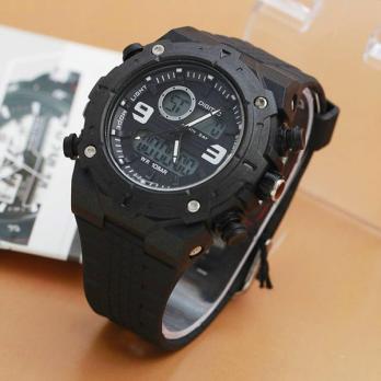 [Digitec] Jam Tangan Pria DG 3013T/Full Black Original