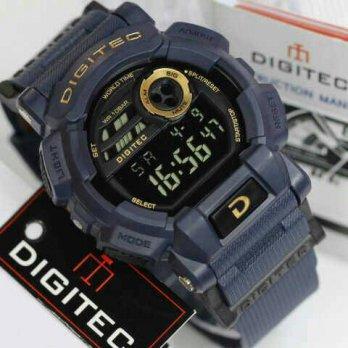 [Jam Tangan] Digitec Pria Original DG 2079T/Blue Dongker