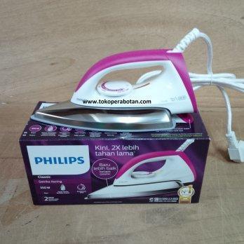 [Philips] Setrika Philips Ceramic HD-1173 (pink) Philips HD-1173