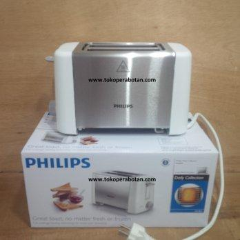 [Philips] Toaster Philips Metal Popup HD-4825 / Pemanggang Roti Philips HD-