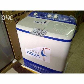 SanyoMesin Cuci Sanyo 2 Tabung 8kg SW871XT