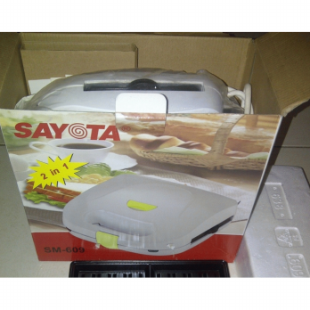 [Sayota] Sandwich Maker & Waffle Maker SM609, 1 Alat utk membuat 2 Jenis