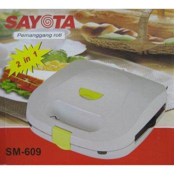 [Sayota] Sandwich & Waffle Maker SM-609