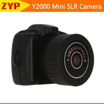 [globalbuy] 2016 NEW Mini digital video camera Y2000 mini SLR camera small gift GO