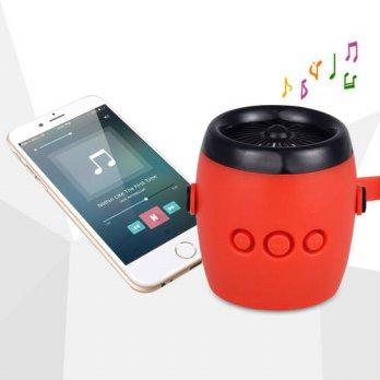 Globalbuy Aircraft ENGINE Shape Mini Bluetooth Speaker Player Waterproof Portable S 2962979