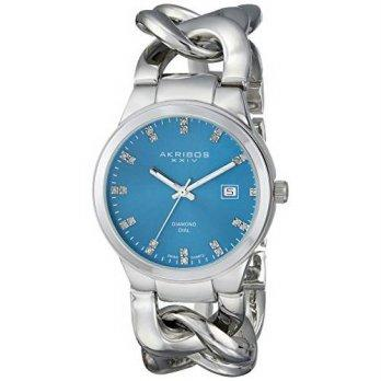 [macyskorea] Akribos XXIV Womens AK759SSTQ Lady Diamond Analog Display Swiss Quartz S/9951645