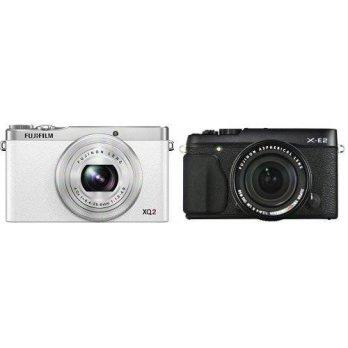 [macyskorea] Amazon Fujifilm XQ2 White with X-E2 Black XF 18-55 Lens Kit/3815676