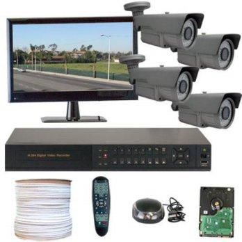 [macyskorea] GW Security Inc 4CHH3 HD-SDI 4-Channel DVR 4 x 1/3 Inches 2.1 Megapixel CMOS /9126753