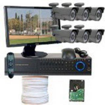 [macyskorea] GW Security Inc GW High End HD-SDI CCTV Surveillance Security Camera System, /9125168