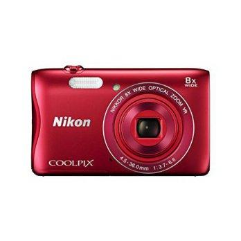 [macyskorea] Nikon COOLPIX S3700 Digital Camera with 8x Optical Zoom and Built-In Wi-Fi (R/8197716