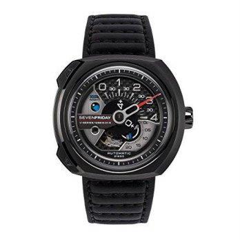 Home · Fashion · Jam Tangan. [macyskorea] SEVENFRIDAY Sevenfriday V3-01 V Series Engineering Progress Automatic Watch/9953678