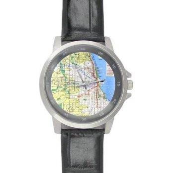 Harga [poledit] Chicago Subway Map Watch Special Design