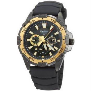 worldbuyer  Casio Mens MTD1069B-1A1V Black Resin Quartz Watch with Black  Dial  1335ae367d