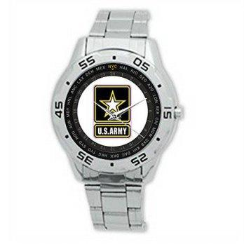 0b13a78b3ee1  worldbuyer  Men`s Wristwatches U.S. Army falgo312 New Mens Stainless Steel  Wrist Watches