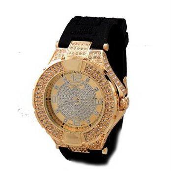 1936dc4b6a93 Harga  worldbuyer  Techno Pave Iced out Hip Hop Bling Riveted Silver ...