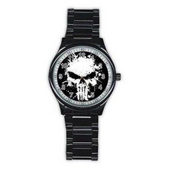 worldbuyer  Wristwatches Skull Punisher Weapon MBS149 New Fashion Mens  Wrist Watches Stai 1378558 714e693be9