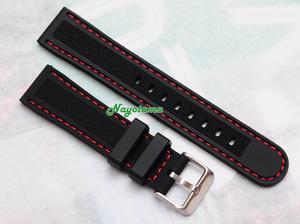 Harga 20mm Watchdis Dakota Black Rubber Strap - Tali Jam Tangan ...