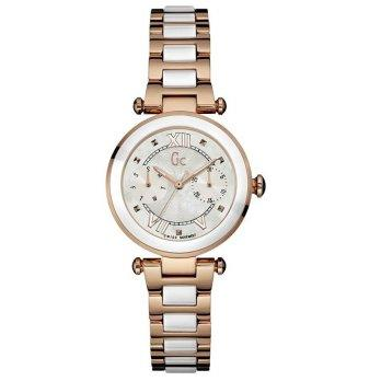 GC Guess Collection Jam Tangan Wanita Rosegold Stainless Steel Y06004L1