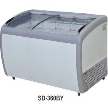 Harga GEA SD 360BY Sliding Curve Glass Freezer Freezer