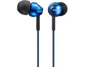 Harga HEADPHONES SONY MDR-EX110LP/L (BLUE) ORIGINAL ...