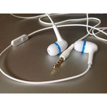 Harga Highly Recommend Taiwan Original White Earphone With Mic No Logo Headset Sound Quality Super Pricenia Com