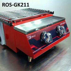 Kompor Panggang Tanpa Asap 2 Tungku ROS-GK211