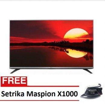 LG LED TV 32LF520A-32' Hitam [Free Setrika Maspion]