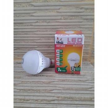 Lampu LED Mitsuyama 7 watt sensor suara / Lampu Tepuk