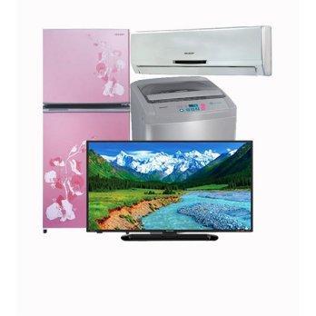 Harga SHARP Paket Special 3 - TV, Mesin Cuci, Kulkas, AC