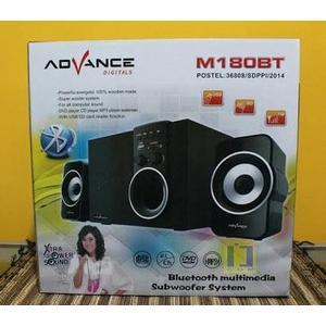 Speaker Advance Portable M180BT Bluetooth + Radio+ Remote SUBWOOFER