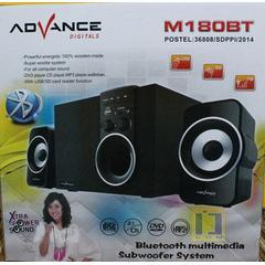 Speaker Aktif Bluetooth, FM Radio, Portable ADVANCE M180BT