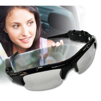 Spy Sunglasses Camera Kacamata Rekam Foto Video Suara Mata Pengintai