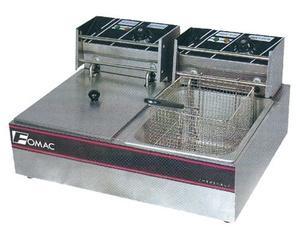 alat penggorengan kentang deep fryer listrik double t