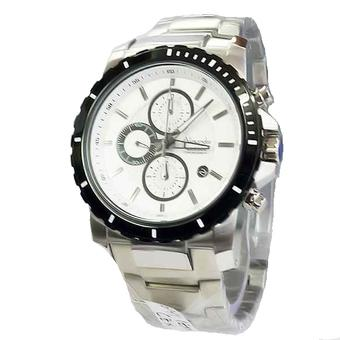 Alexandre Christie - Jam Tangan Pria - Stainless Steel - Ac 6141 - Silver