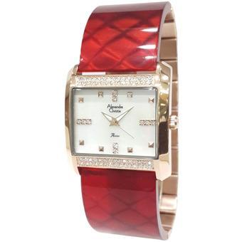 Alexandre Christie Passion 2520LHBRGSLRE Rose Gold Jam tangan Wanita