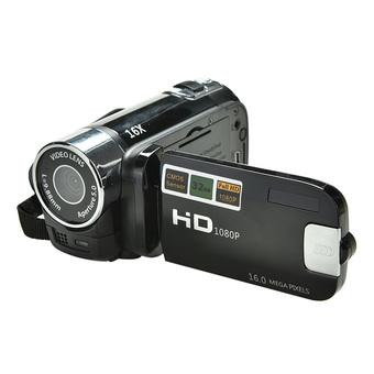 Amango Digital Video Camcorder 8x ZOOM HD 1080P 16MP (Black) - Intl