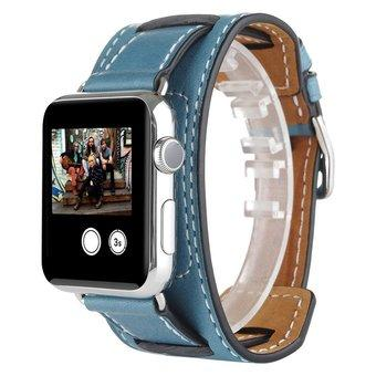 Apple Watch Band, 42mm VENTER®Cuff Genuine Leather watch Band strap Bracelet Replacement Wrist