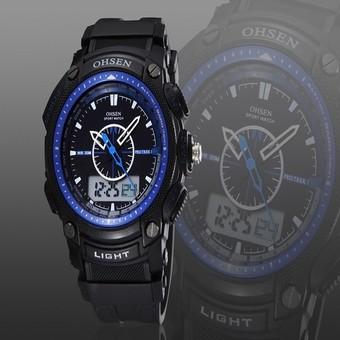 Autoleader OHSEN AD1209 Men Fashion Quartz Wrist Watch (Intl)