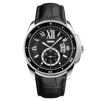 Autoleader Skmei 1135 Men Business Quartz Watch Casual Fashion Watches Reloj Watch (Intl)