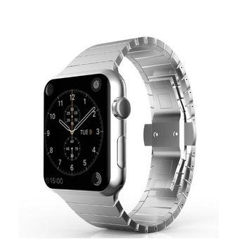 Bluesky Apple Watch Band, Stainless Steel Replacement Smart Watch Band Wrist Strap Bracelet with Butterfly