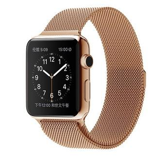 Bluesky Apple Watch Band, with Unique Magnet Lock, 38mm Loop Stainless Steel Bracelet Strap