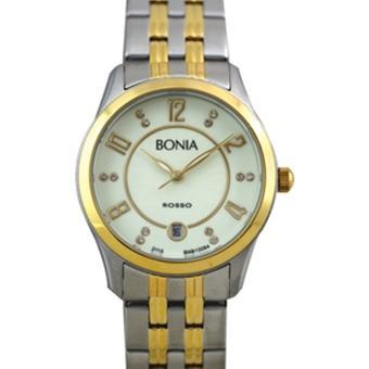 Bonia Jam Tangan Wanita - Silver - Strap Stainless Steel - BN10064-2125L
