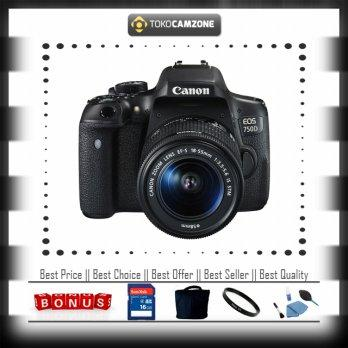 Canon EOS 750D 18-55mm IS STM WiFi with Bonus