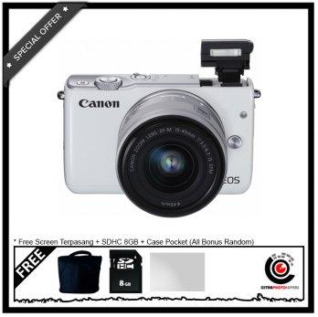 Canon EOS M10 Kit 15-45mm IS STM with Bonus
