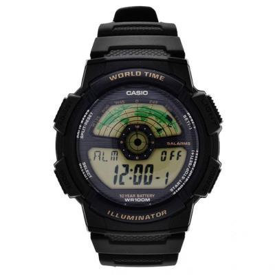 Casio AE-1100W-1B Jam Tangan Pria Strap Resin - Black