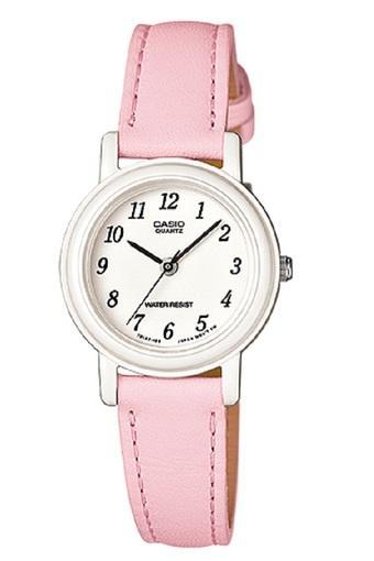 Casio Analog Watch LQ-139L-4B1DF Jam Tangan Wanita - Pink - tali kulit
