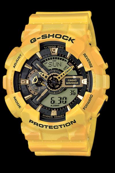 Harga Casio G-Shock GA-110CM-9A Jam Tangan Pria Resin - Yellow ... 2631078497