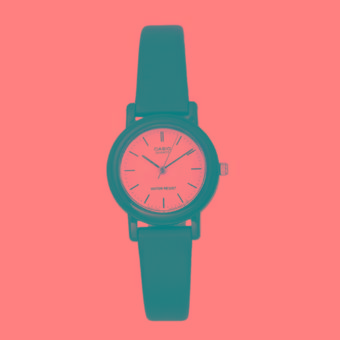 Casio - Jam Tangan Wanita - Hitam - Strap Karet - LQ139BMV-7ELDF