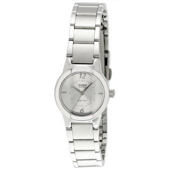 Casio Jam Tangan Wanita LTP-1230D-7CDF - Silver Putih