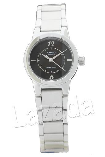 Casio LTP Jam Tangan Wanita - Silver - Strap Stainless Steel - 1230D - 1CDF